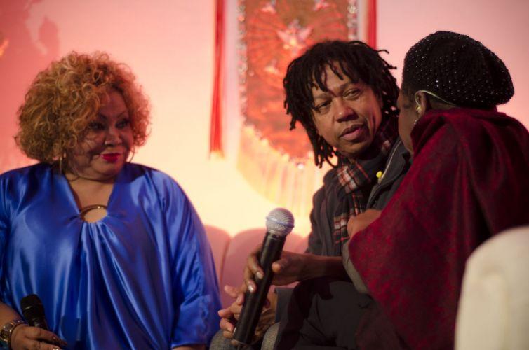 Alcione recebe em sua casa Djavan e Áurea Martins para um jam session que vai dar origem ao seu novo DVD em comemoração aos 40 anos de carreira