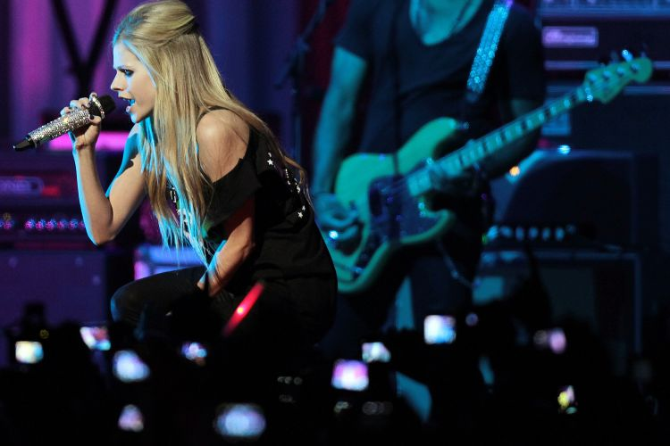 Na primeira apresentação da turnê