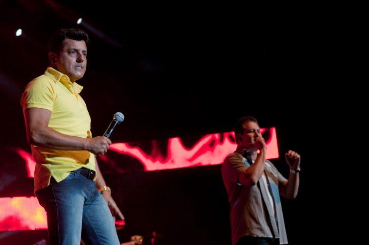 A dupla Bruno & Marrone apresenta músicas do álbum