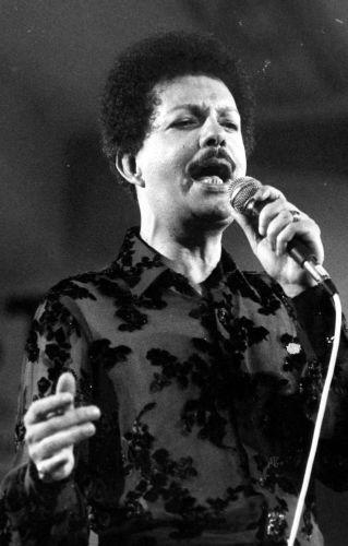 Show do cantor Cauby Peixoto em São Paulo, em 1982