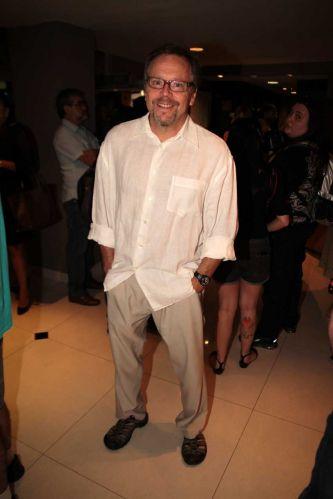 O cineasta Fernando Meirelles no show de Chico Buarque da turnê