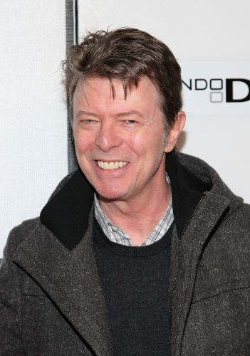 David Bowie em evento do Festival de Cinema de Tribeca, em Nova York (30/04/2009)