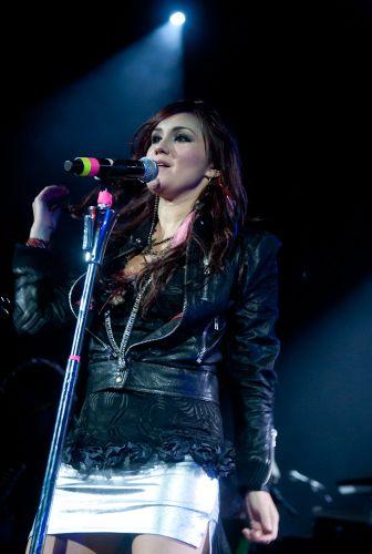 Esse é o quarto show da cantora Dulce María, que está no Brasil para divulgar a turnê do disco solo