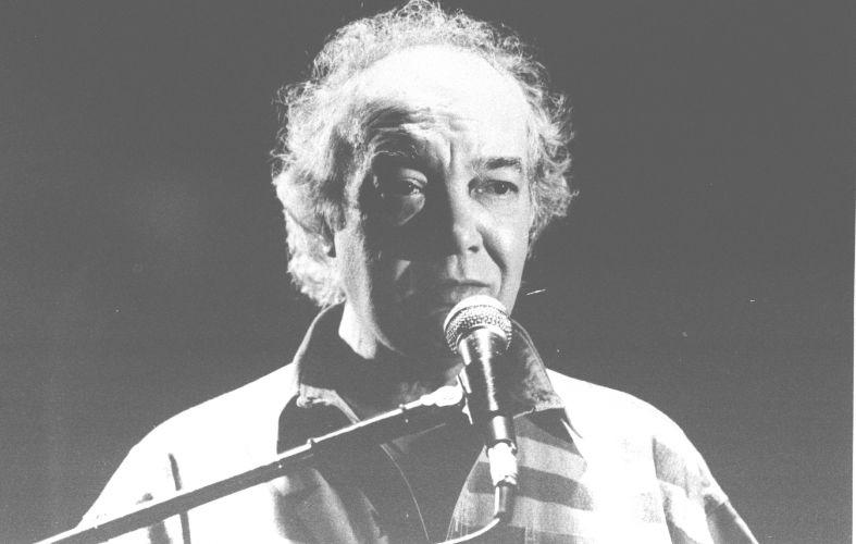 Cantor e compositor Erasmo Carlos canta em apresentação (22/07/1994)