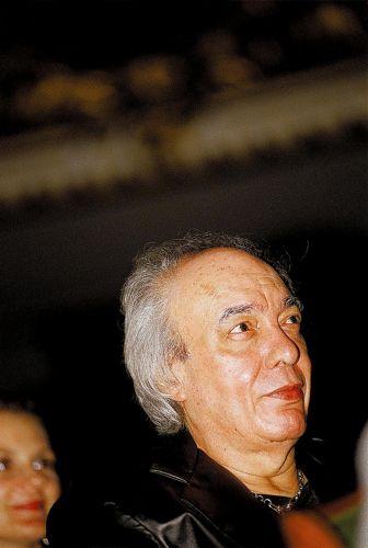 Erasmo Carlos na festa de premiação da APCA (Associação Paulista dos Críticos de Arte), quando venceu prêmio de melhor compositor, em São Paulo (29/03/2005)