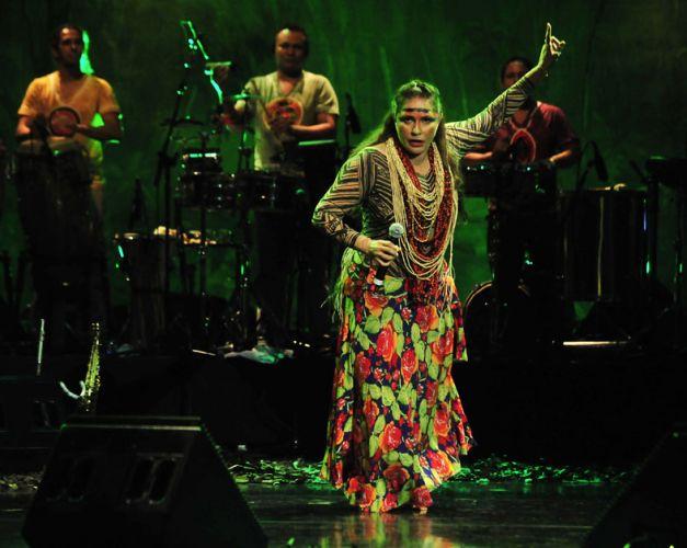 Fafá de Belém traz pela primeira vez para São Paulo, no Auditório Ibirapuera, o show do DVD