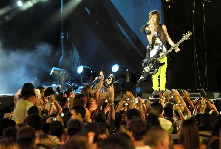A banda Restart tocou pela primeira vez no Festival de Verão de Salvador (05/02/2011)