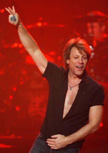 Jon Bon Jovi em show no Hard Rock Hotel & Casino em Las Vegas (24/4/09)