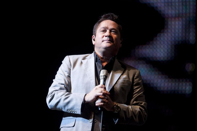 Leonardo se apresentou nesta sexta-feira no Credicard Hall, em São Paulo (11/5/12)