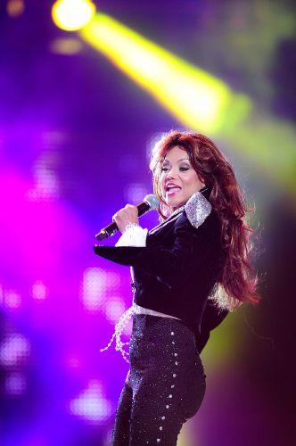 Irmã de Michael Jackson, Latoya se apresenta no Michael Forever, em tributo ao cantor (8/10/11)