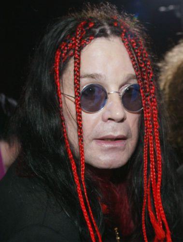 Músico Ozzy Osbourne durante premiere do filme