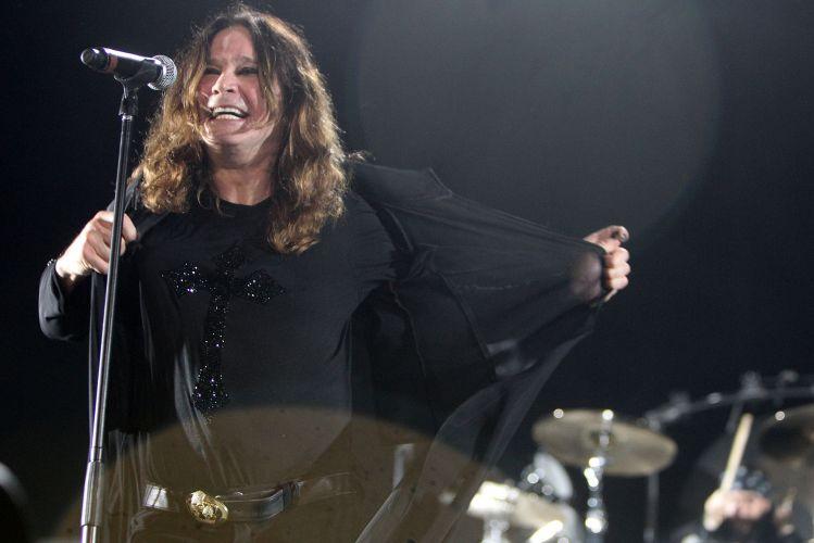 Ozzy Osbourne abre sua turnê brasileira em Porto Alegre. O cantor se apresenta nesta quarta-feira (30) no Ginásio do Gigantinho (30/03/2011)
