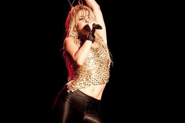 A cantora colombiana Shakira é uma das principais atrações do Pop Music Festival, evento musical que acontece no estádio do Morumbi neste sábado(19/03/2011)