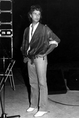 O cantor e compositor Roberto Carlos em maio de 1986. A música de Roberto Carlos marcou sua vida? Clique no link ao final da legenda e conte sua história