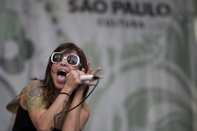 Pitty toca no sexto e último dia do Rock in Rio 2011, no Palco Mundo. A cantora lança em maio o DVD ao vivo