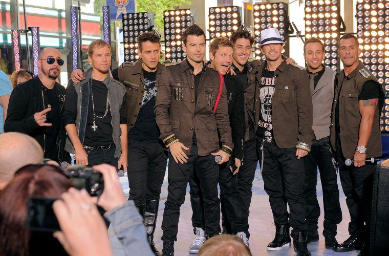 Integrantes das bandas Backstreet Boys e New Kids On The Block