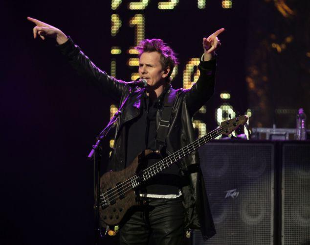 Duran Duran se apresenta em evento pré-Super Bowl no Texas, nos Estados Unidos (03/02/2011)