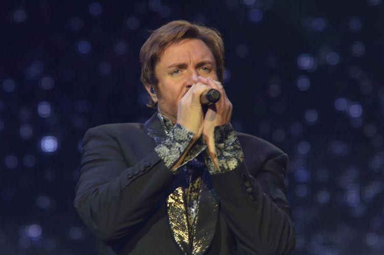 O Duran Duran toca sucessos dos anos 80 para o público do SWU (13/11/2011)
