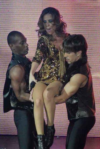 Wanessa se apresenta em clube para comemorar a Semana do Orgulho Gay em São Paulo (22/6/2011)