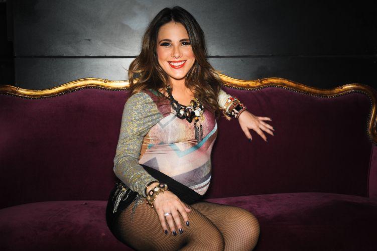 A cantora Wanessa, grávida de seis meses, encerrou turnê