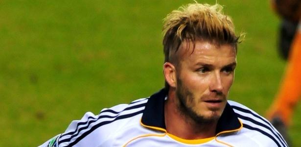 David Beckham, que joga pelo LA Galaxy, fecha escolhinha de futebol em Londres
