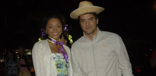 Juliana Alves e o namorado Guilherme Duarte (18/06/2009)