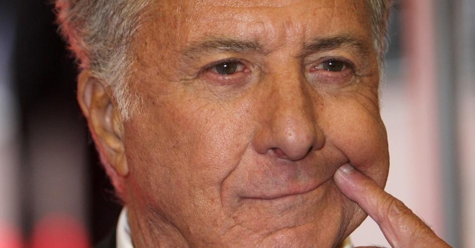 Dustin Hoffman na première de