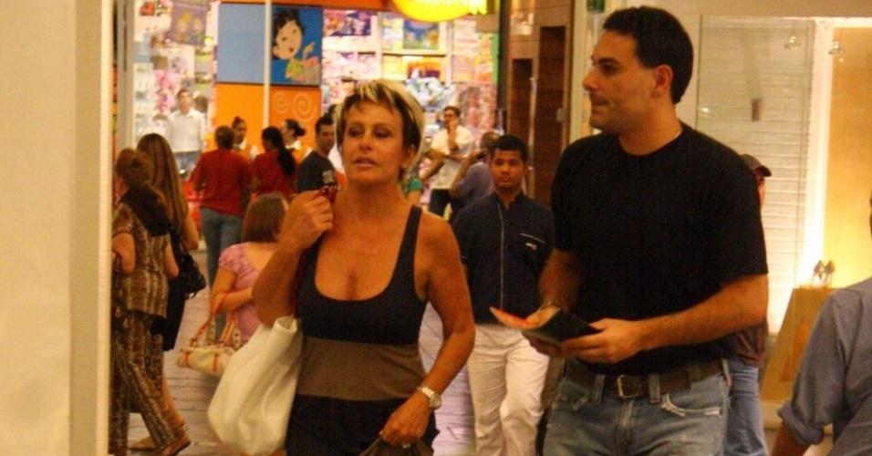 Ana Maria Braga e Marcelo Frisoni voltaram às boas