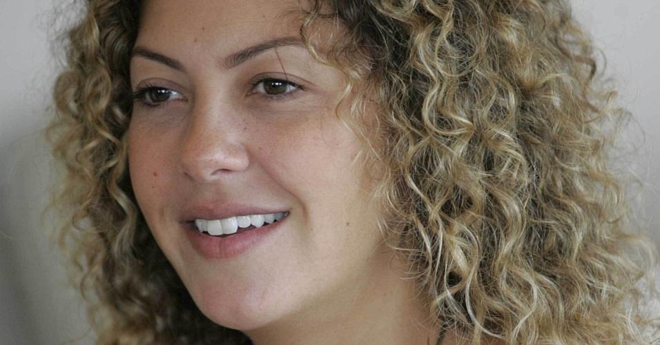 A atriz Fabiula Nascimento, do seriado