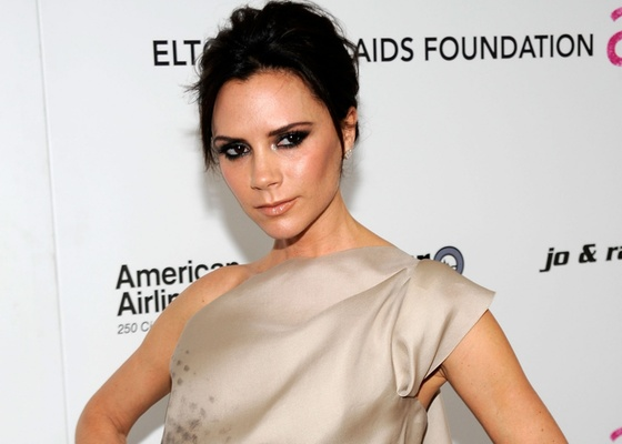 Victoria Beckham na 18ª Annual Elton John AIDS Foundation Academy Award Party no Pacific Design Center em West Hollywod (7/3/20100