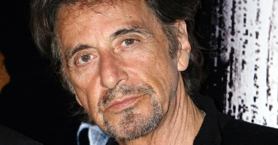 O ator Al Pacino chega para a première de