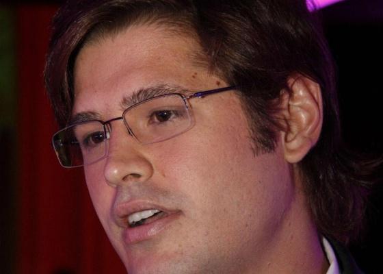 O ator e cantor Dado Dolabella no prêmio Atitude Carioca, no Jockey Club do Rio de Janeiro (28/1/10)