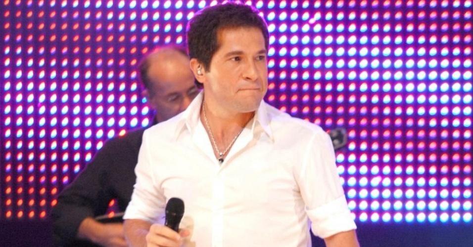 Daniel na gravação do DVD do projeto Direito de Viver do Hospital de Câncer de Barretos (31/03/2010)