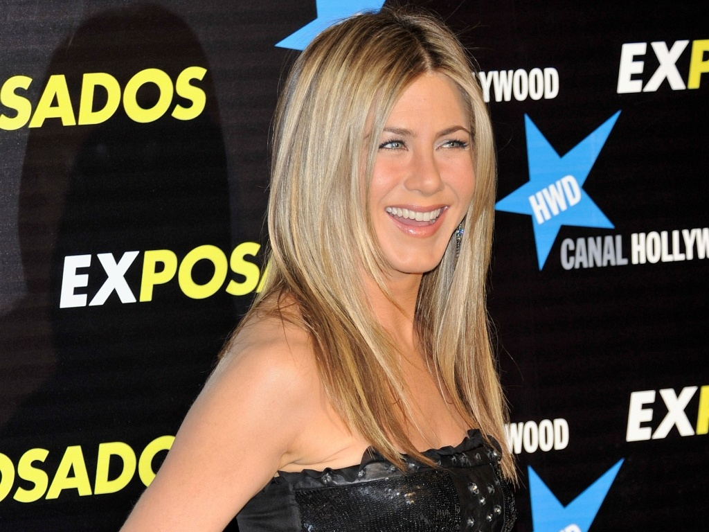 A atriz Jennifer Aniston na premire de 