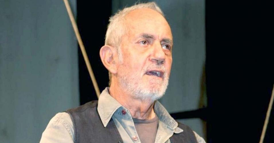 Paulo José na na estreia da peça