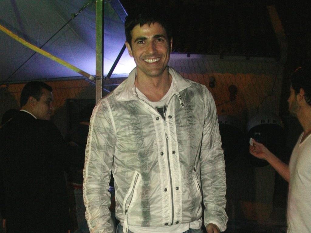 Reynaldo Gianecchini em festa no Rio (14/5/10)