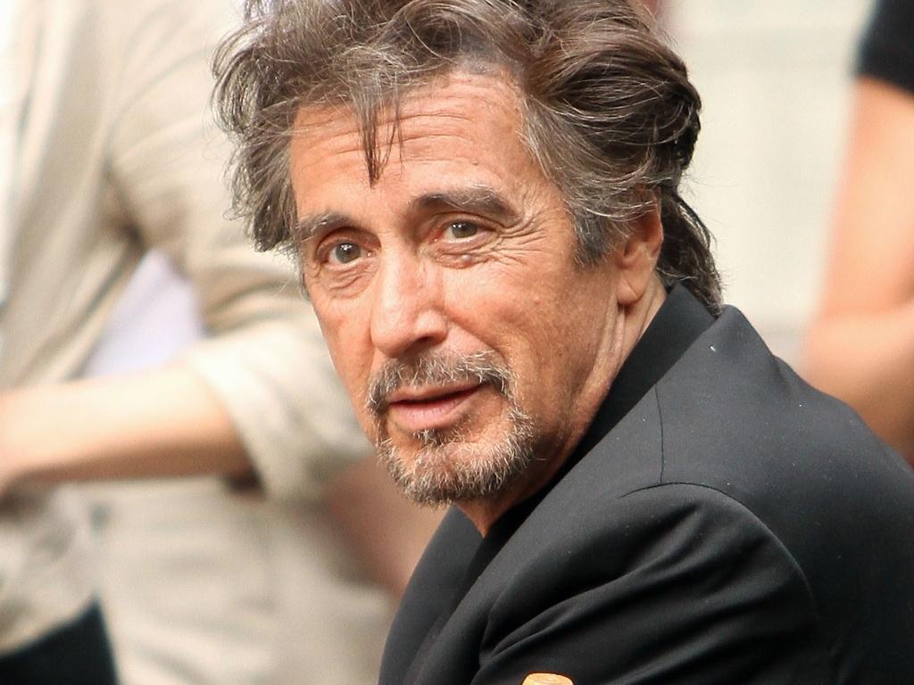 Al Pacino grava comercial em nova York (27/5/2010)