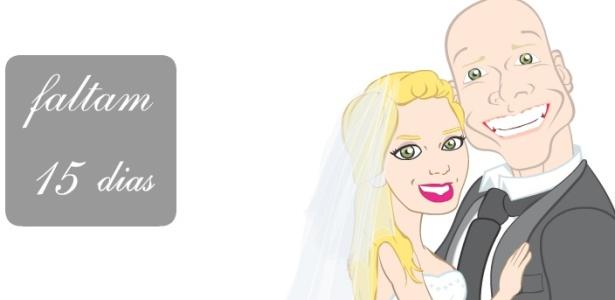Site de casamento de Sheila Mello e Xuxa (9/6/2010)