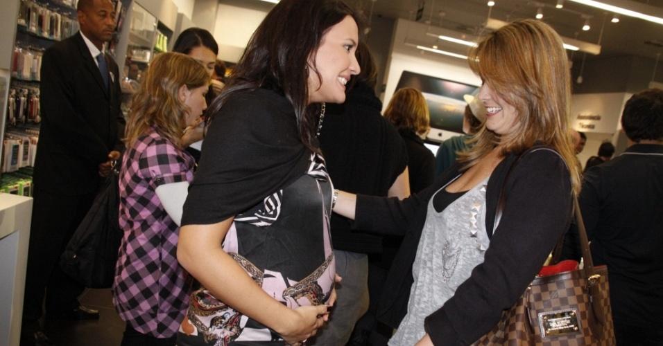Juliana Knust e Samara Felippo em evento no Rio de Janeiro (16/6/2010)
