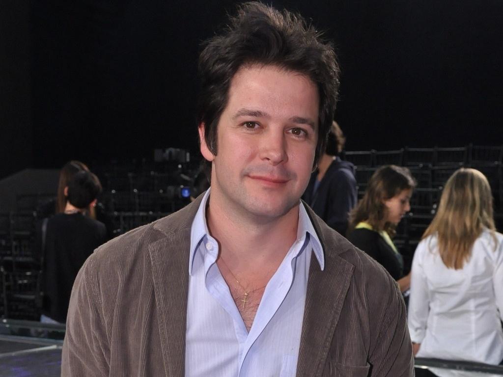 O ator Murilo Benício na coletiva de