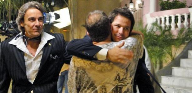 Alexandre Borges, Jorge Fernando e Murilo Benício (13/7/10)