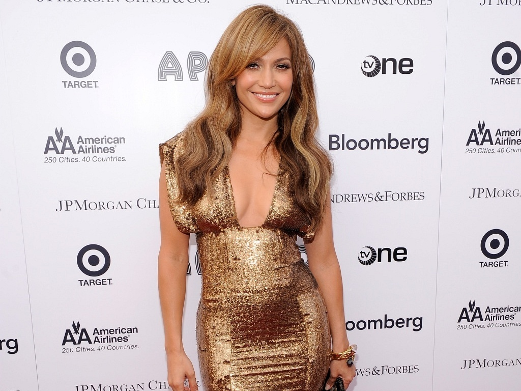 Jennifer Lopez no 2010 Apollo Theater Spring Benefit Concert & Awards Ceremony em Nova York (14/6/2010)