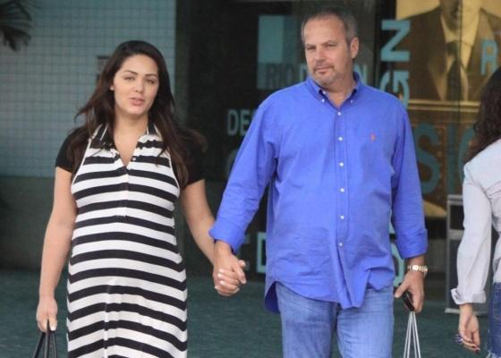 No último sábado, dia 10 de setembro, Jayme Monjardim levou a filha Maria  Fernanda