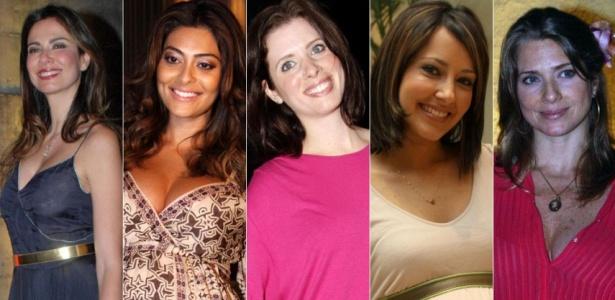 Luciana Gimenez, Juliana Paes, Daniele Valente, Maytê Piragibe, Letícia Spiller e Priscila Grasso revelam seus desejos durante a gravidez