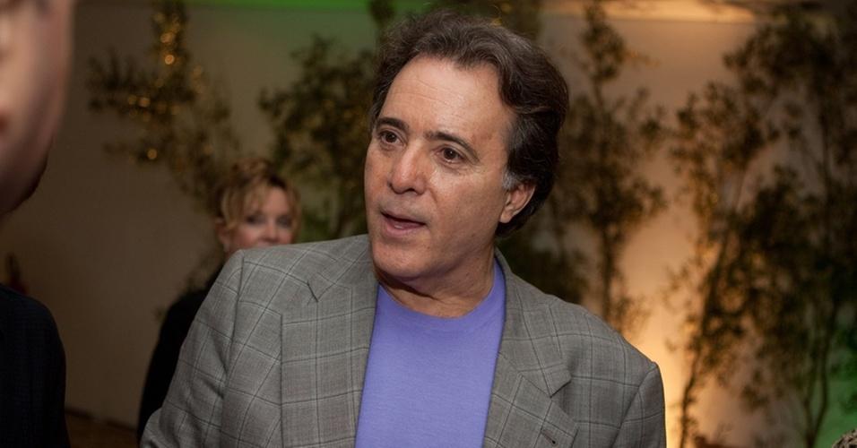 O ator Tony Ramos no lançaamento da novela