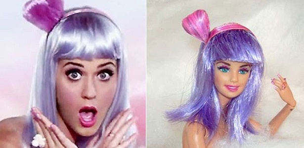 Katy Perry vira boneca inspirada em clipe (2/11/10)