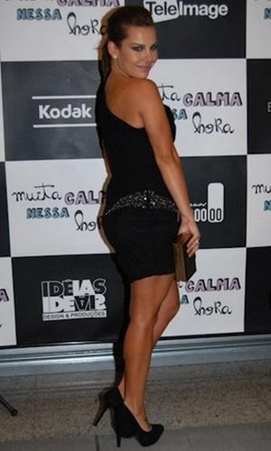Fernanda Souza na pré-estreia de
