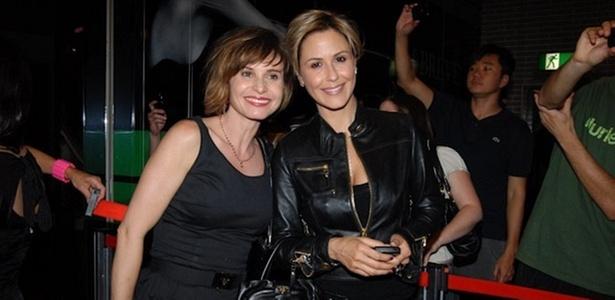 Paula Burlamaqui e Guilhermina Guinle na pré-estreia de