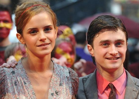 Emma Watson e Daniel Radcliffe em première de Harry Potter e o Enigma do Príncipe em Londres (7/7/2009)