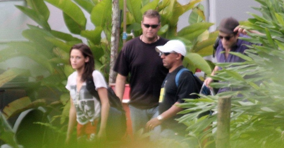 Kristen Stewart e Robert Pattinson em Paraty (RJ) (9/11/2010)